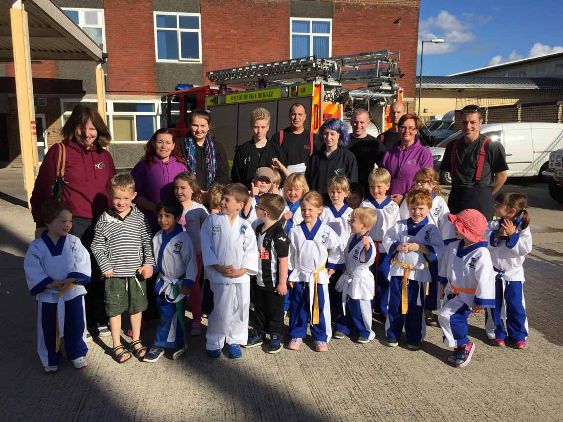 Little Dragons Fire Station Visit